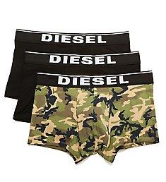 Diesel Damien Cotton Stretch Fashion Trunks - 3 Pack ST3VWBAE