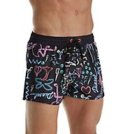 Diesel Sandy Neon Tropical Print Swim Trunk SV9TIANS