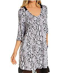Donna Karan Sleepwear Grey Animal Sleepshirt D3323328