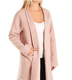 Donna Karan Sleepwear Cozy Cardigan Bed Jacket D3623316