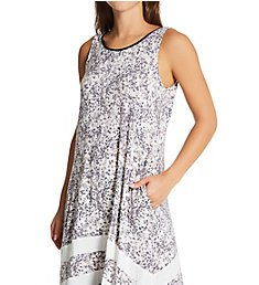 Donna Karan Sleepwear Sleeveless Long Nightgown D3623329