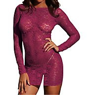 Dreamgirl Low Back Lace Chemise 10101