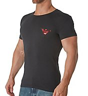 Emporio Armani Holiday Mirror Effect Eagle Shirt 0356A595