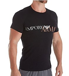 Emporio Armani Mega Logo Slim Fit Short Sleeve T-Shirt 1358A516