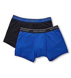 Emporio Armani Stretch Cotton Classic Logo Boxer Brief - 2 Pack 2687A717