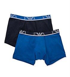 Emporio Armani Color Cotton Stretch Boxer Brief - 2 Pack 2687P715