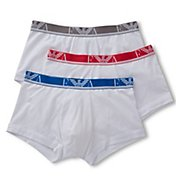 Emporio Armani Color Cotton Stretch Trunks - 3 Pack 3577P715