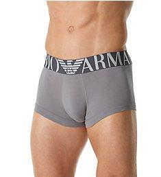 Emporio Armani Mega Logo Cotton Stretch Trunk 3897P516