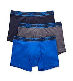 Emporio Armani Monogram Boxers - 3 Pack 4730P715