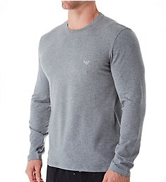 Emporio Armani Endurance Cotton Stretch Long Sleeve T-Shirt 6539A720