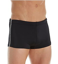 Emporio Armani Logo Tape Square Leg Swim Trunk 7259P400