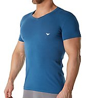 Emporio Armani Iconic Logoband V-Neck T-shirt 8107P729