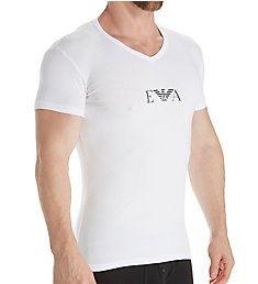 Emporio Armani Monogram Slim Fit V-Neck T-Shirt 8108P715