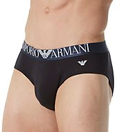 Emporio Armani Shiny Logo Band Classic Brief 8147P512