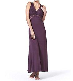 Fleur't Bella Epoque Lace T-Back Long Gown 4162BEP