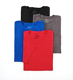 Fruit Of The Loom Men's Core 100% Cotton Pocket Tee - 4 Pack 4P30BG