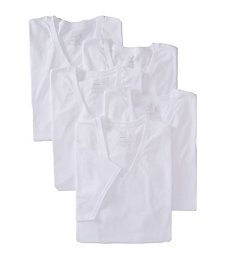 Fruit Of The Loom Stay Tucked Extended Size V-Neck T-Shirts - 5 Pack 5P2626X