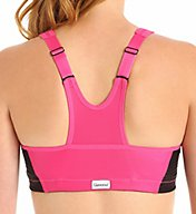Glamorise Front Zipper MagicLift High Impact Sports Bra 1266
