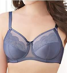 Glamorise Elegance Satin and Lace Wonderwire Bra 9840