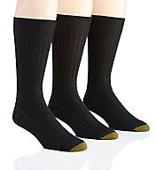 Gold Toe Windsor Wool Crew Dress Socks - 3 Pack 1446S