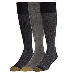 Gold Toe Over The Calf Premium Fashion Socks - 3 Pack 2055H