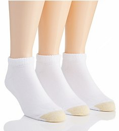 Gold Toe Ultra Tec No Show Socks - 3 Pack 2185P