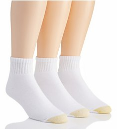Gold Toe Ultra Tec Quarter Socks - 3 Pack 2186P