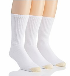 Gold Toe Ultra Tec Crew Socks - 3 Pack 2187S