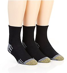 Gold Toe Outlast Quarter Socks - 3 Pack 3015P