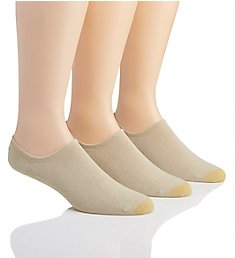 Gold Toe Sta-Cool Solid No Show Socks - 3 Pack 3529P