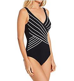 Gottex Embrace Surplice One Piece Swimsuit 18EM158