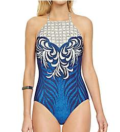 Gottex Imperial High Neck One Piece Swimsuit 18IP148