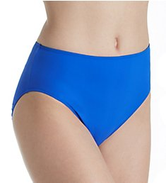 Gottex Lattice High Leg High Waist Brief Swim Bottom 18LAP08
