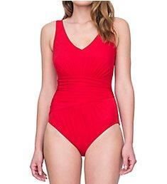Gottex Vista V-Neck One Piece Swimsuit 19vs151