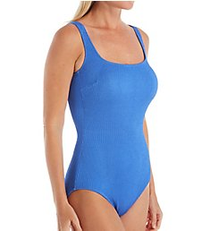 Gottex Cosmos Square Neck One Piece Swimsuit 20CO173
