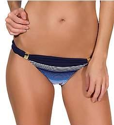 Guria Beachwear Blue Ombre Stripes Flip Swim Bottom B1804ME