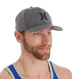 Hurley Black Suits Outline Flexfit Hat MHA7170