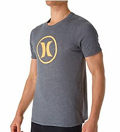 Hurley Circle Icon Nike Dri-Fit Short Sleeve T-Shirt MTS2334