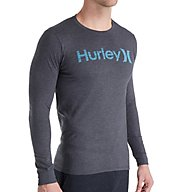 Hurley One & Only Push Through Long Sleeve T-Shirt MTS2366
