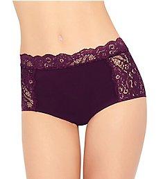 Ilusion Microfiber Lace High Rise Panty 71001192