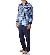 Jockey Woven Broadcloth Plaid Pajama Set 6704427