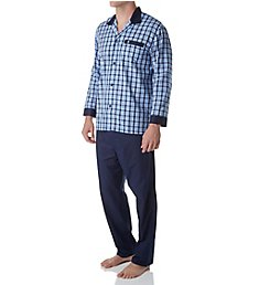 Jockey Woven Broadcloth Plaid Pajama Set 6704427