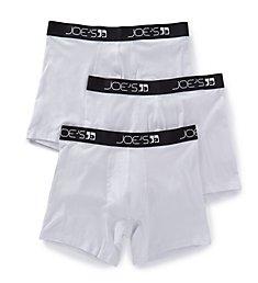 JOE's Jeans Underwear Cotton Stretch Boxer Briefs - 3 Pack 62032