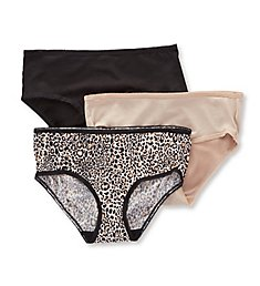 Jones New York Microfiber 3 Pack Hipster Panty 720134P