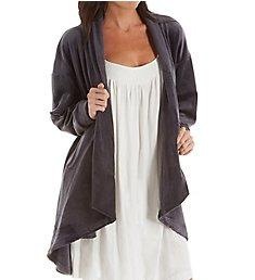 KayAnna Velvet Fleece Open Cardigan R05311