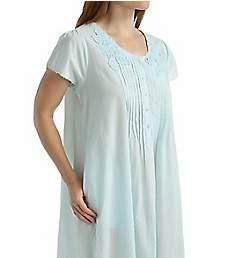 La Cera 100% Cotton Woven Lace Applique Ballet Gown 1275G