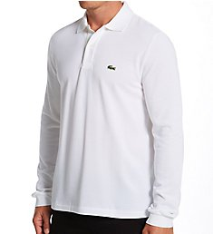 Lacoste Classic Pique 100% Cotton Long Sleeve Polo L1312-51