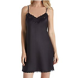 Lauren Ralph Lauren Sleepwear Satin Essentials Lace Chemise 8121226