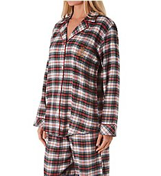 Lauren Ralph Lauren Sleepwear Classic Button Front PJ Set L92020F