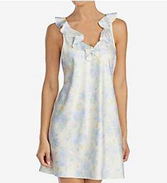 Lauren Ralph Lauren Sleepwear Satins Sleeveless Ruffle Neck Chemise LN21572